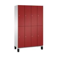 CAMBIO Garderobekast met 8 lockers (4x2)