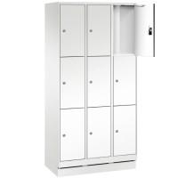 EVO Volkern / HPL locker met 9 smalle vakken