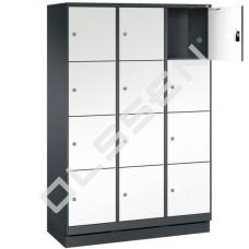 EVO Volkern / HPL locker met 12 brede vakken