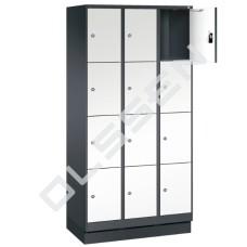 EVO Volkern / HPL locker met 12 smalle vakken