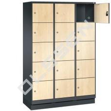 EVO Volkern / HPL locker met 15 brede vakken