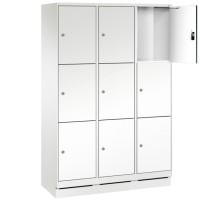 EVO Volkern / HPL locker met 9 brede vakken