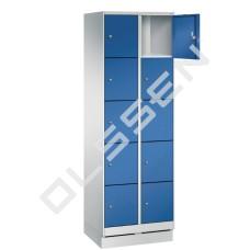 EVOLO Luxe 10-vaks Locker met kleine vakken
