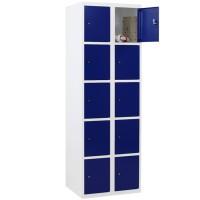 CAPSA Metalen Locker met 10 vakken (Smalle vakken)